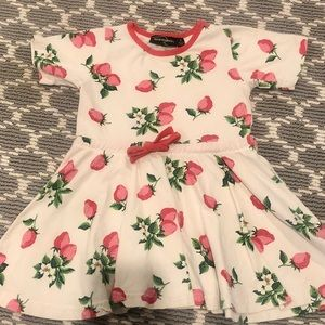 Rock Your Baby Strawberries dress, 2T